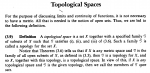 Stromberg -  Defn 3.9  ... Defn of a Topological Space ... .png